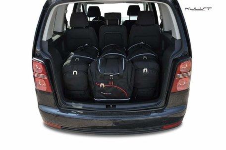 Volkswagen Touran van 2003 tot 2010 | 4 auto tassen | Kjust reistassen