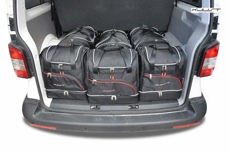 Volkswagen Caravella vanaf 2003 | 6 auto tassen | Kjust reistassen