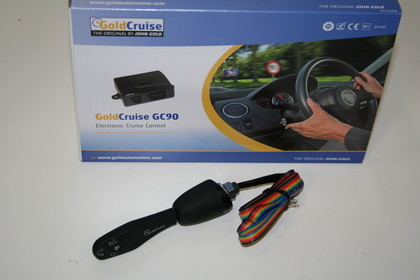 John Gold Cruise control set voor Volvo S40 2007-2010