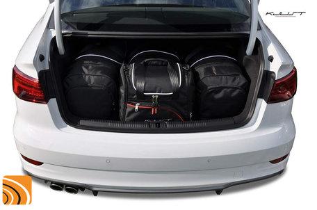 Audi A3 Sedan vanaf 2012   4 auto tassen   KJUST reistassen