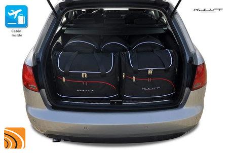 Audi A4 Avant (B7) van 2004 tot 2012 | 4 autotassen | Kjust