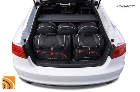 Audi A5 Sportback I vanaf 2007   5 autotassen   Kjust reistassen