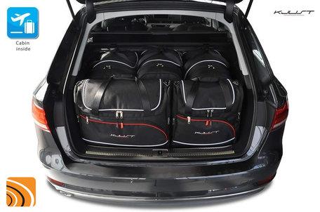 Audi A4 Avant (B9) vanaf 2015 | 5 autotassen | Kjust reistassen