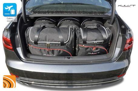 Audi A4 Sedan (B9) vanaf 2015 | 5 autotassen | Kjust reistassen