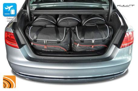 Audi A8 van 2010 tot 2016   5 auto tassen   Kjust reistassen