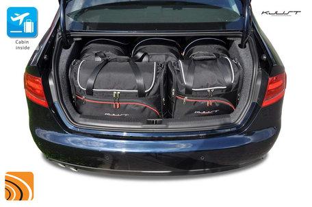 Audi A4 Sedan van 2008 tot 2015 | 5 autotassen | Kjust reistassen