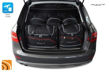 Audi A4 Avant (B8) van 2008 tot 2015 | 5 autotassen | Kjust