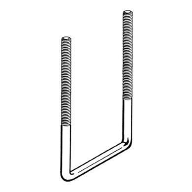 Kamei U-beugel | set 4 stuks | 50 x 70 mm