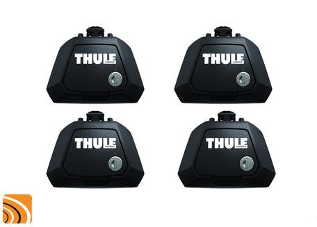 Thule Evo Raised Rail 7104 | Dakdrager voetenset | Dakrailing