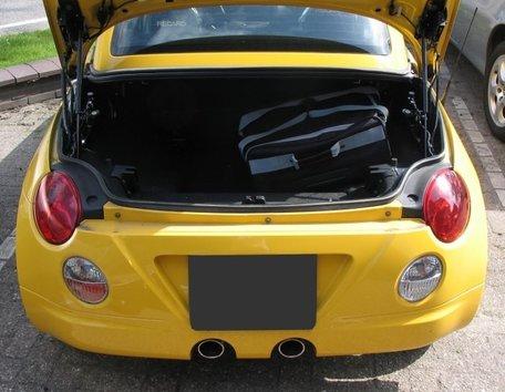 Car-Bags | Daihatsu Copen | 2002 tot 2010 | Auto reistassen