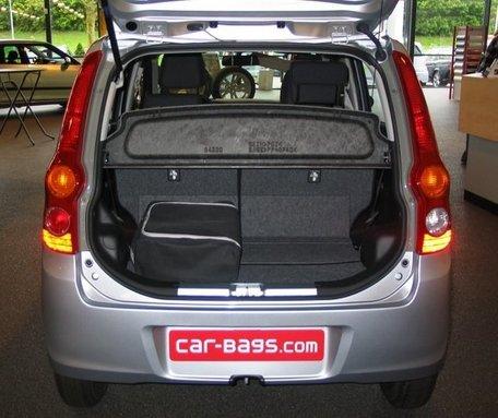 Car-Bags | Daihatsu Cuore | 2007 tot 2012 | Auto reistassen