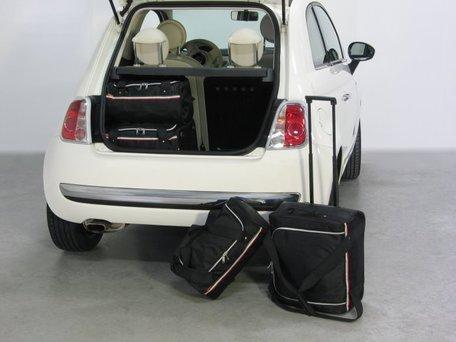 Car-Bags | Fiat 500 | 3-deurs vanaf 2007 | Auto reistassen