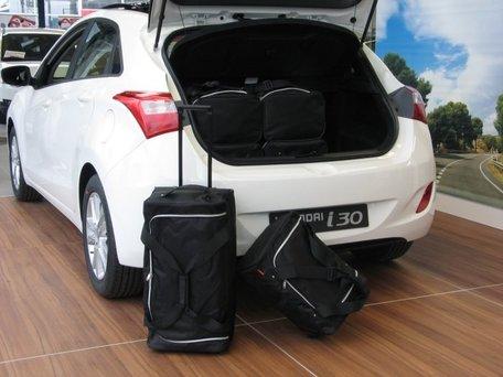 Car-Bags | Hyundai i30 5-deurs | 2012 tot 2017 | Auto reistassen
