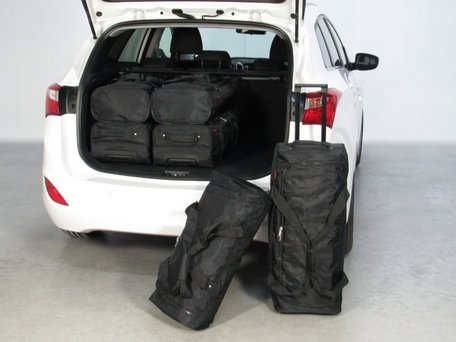 Car-Bags | Hyundai i30 5-deurs | van 2012 tot 2017 | Auto reistassen