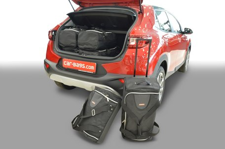 Car-Bags | Kia Stonic | met verstelbare laadruimte | vanaf 2017 | Auto reistassen