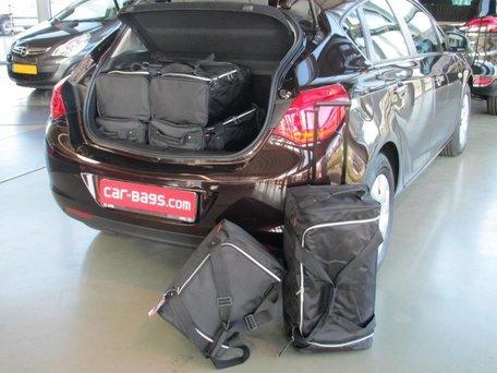 Car-Bags | Opel Astra 5-deurs | J van 2009 tot 2015 | Auto reistassen