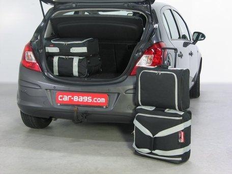 Car-Bags | Opel Corsa D 5-deurs | 2006 tot 2014 | Auto reistassen