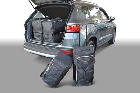 Car-Bags | Seat Ateca | vanaf 2016 | hoge laadvloer | Auto reistassen