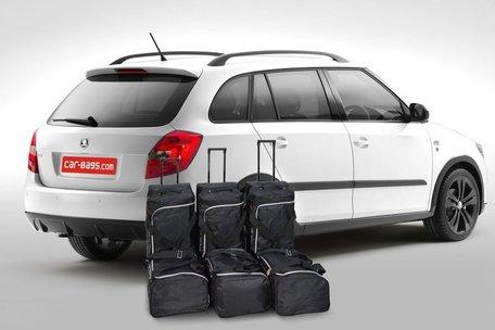Car-Bags | Skoda Fabia II Combi | 2007 tot 2015 | Auto reistassen