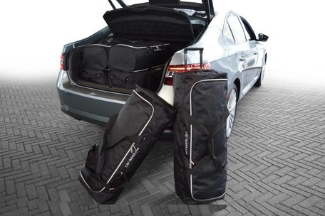 Car-Bags | Skoda Superb III | 5-deurs vanaf 2015 | Auto reistassen