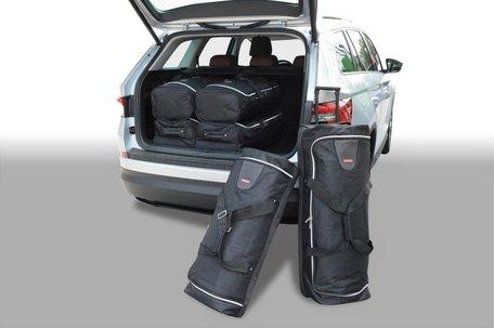 Car-Bags | Skoda Kodiaq | 5-zits uitvoering | vanaf 2017 | Auto reistassen