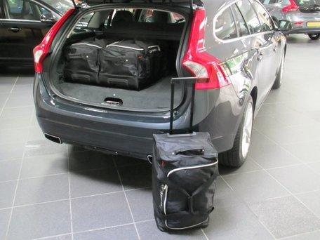 Car-Bags | Volvo V60 Plug-In Hybrid | 2012 tot 2018 | Auto reistassen