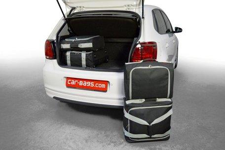 Car-Bags | Volkswagen Polo V | 2009 tot 2017 | hoge vloer | Auto reistassen
