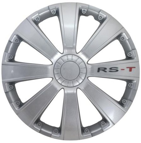 Wieldoppenset RS-T | Zilver | 16 inch