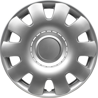 Wieldoppenset Georgia | Zilver | 14 inch