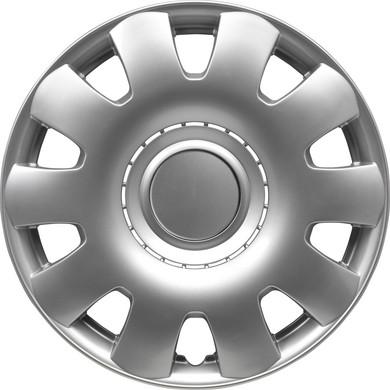 Wieldoppenset Georgia | Zilver | 15 inch