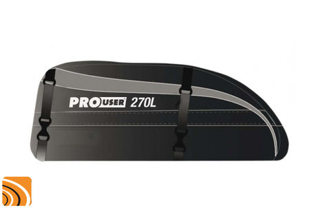 Pro User opvouwbare dakkoffer 270 liter
