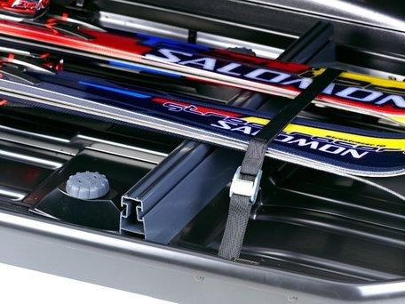 Thule Box Ski Carrier 694500 | Dakkoffer skihouder
