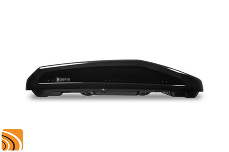 Modula Evo 470 | Hoogglans Zwart | Dakkoffer 470 liter