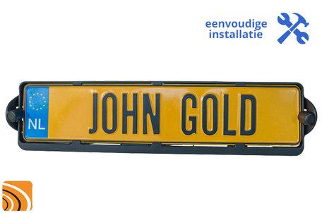 Kenteken parkeersensoren | John Gold | Inbouwset | Sensoren Achter