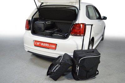 Car-Bags | Volkswagen Polo V | van 2009 tot 2017 | lage vloer | Auto reistassen