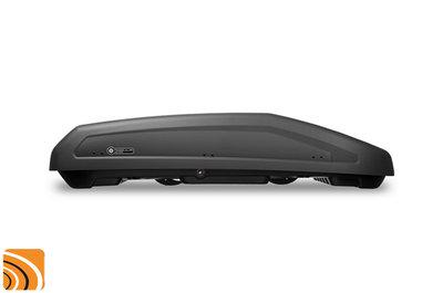 Modula Evo 470 - mat zwart - dakkoffer